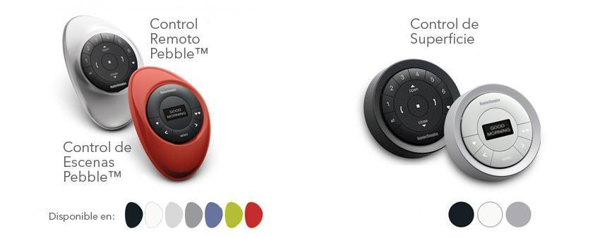 Opciones de Control Pebble™ PowerView™